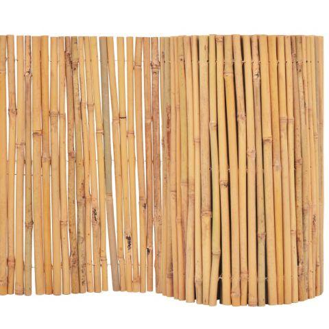 Бамбукова ограда