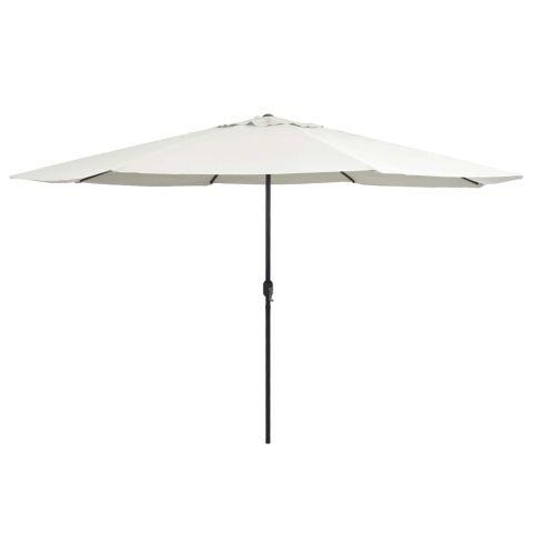 Градински чадър с метален прът
