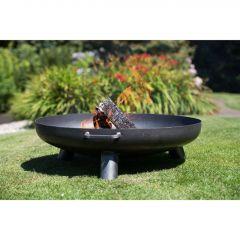 RedFire Купа за огън Salo, черна, стомана, 80 см, 81020