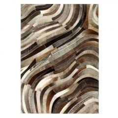 Пачуърк килим от кожа с косъм Lopez
