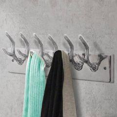 Алуминиева закачалка за палта / шапки / вратовръзки