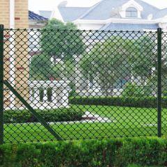 Оградна мрежа с колове