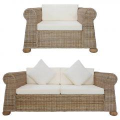 Комплект дивани с възглавници Laurel
