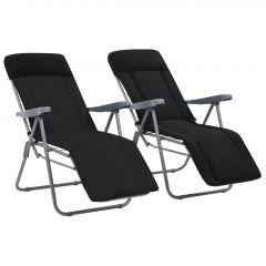 Сгъваеми градински столове с възглавници