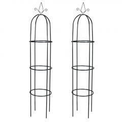 """Градински арки тип """"Кула"""" за катерливи растения - 2 броя"""