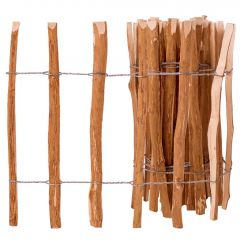 Дървена ограда от колчета Allison