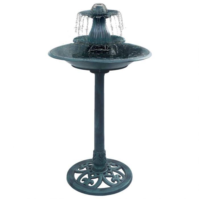 Баня за птици с фонтан