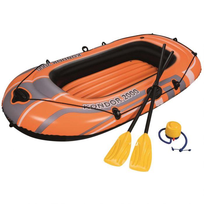 Bestway Надуваема лодка Kondor 2000 Set 188x98 см 61062