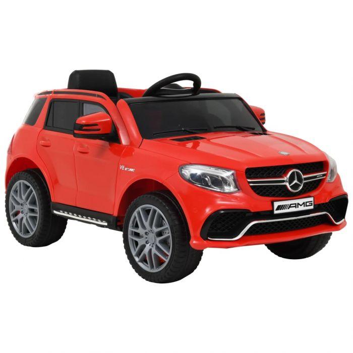 Детска кола Mercedes Benz GLE63S пластмаса червена