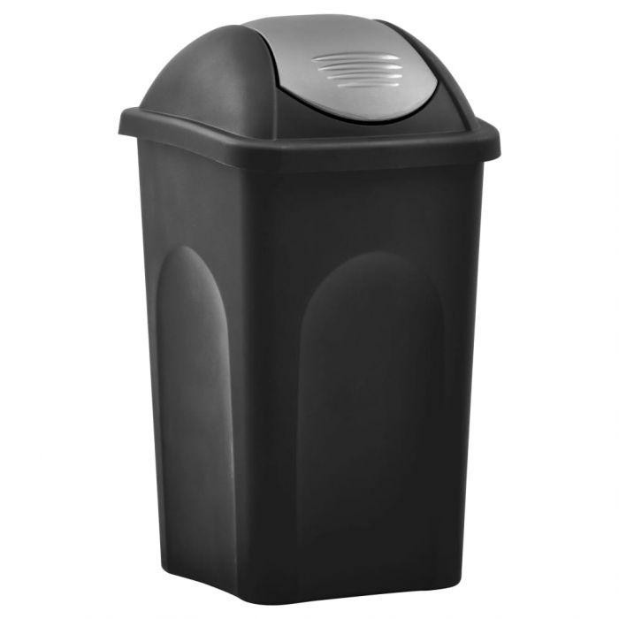 Кошче за боклук с люлеещ капак
