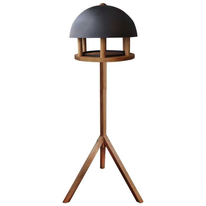 Esschert Design Хранилка за птици, кръгъл стоманен покрив, FB429