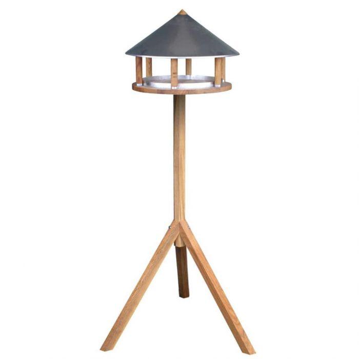 Esschert Design Хранилка за птици, триъгълен цинков покрив, FB431