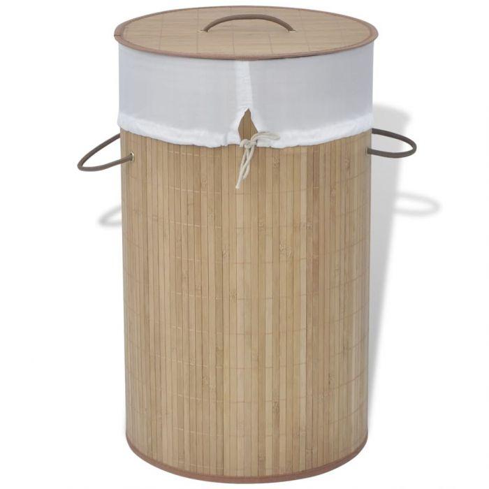 Бамбуков кош за пране Evie