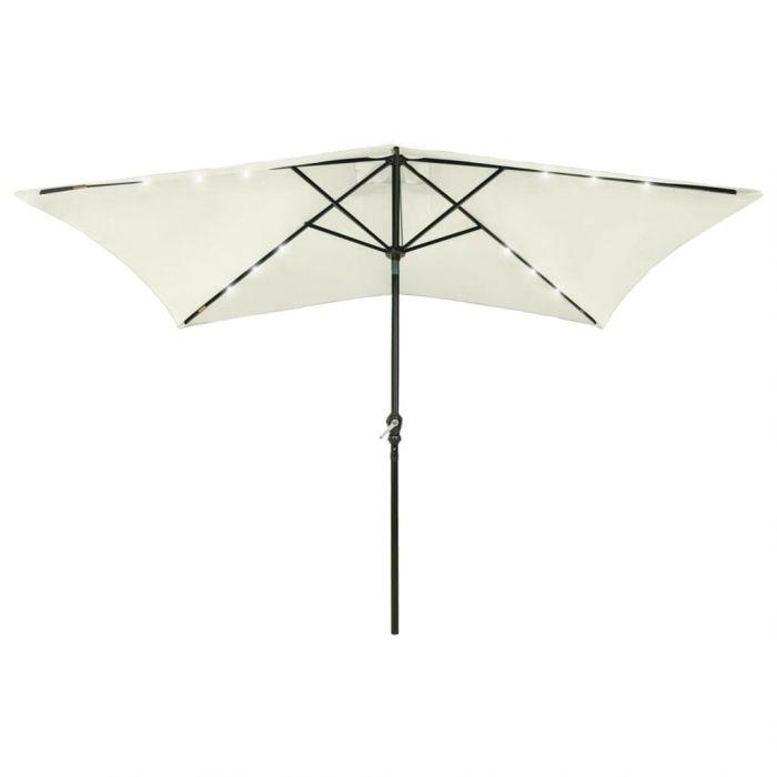 Чадър с лед и стоманен прът