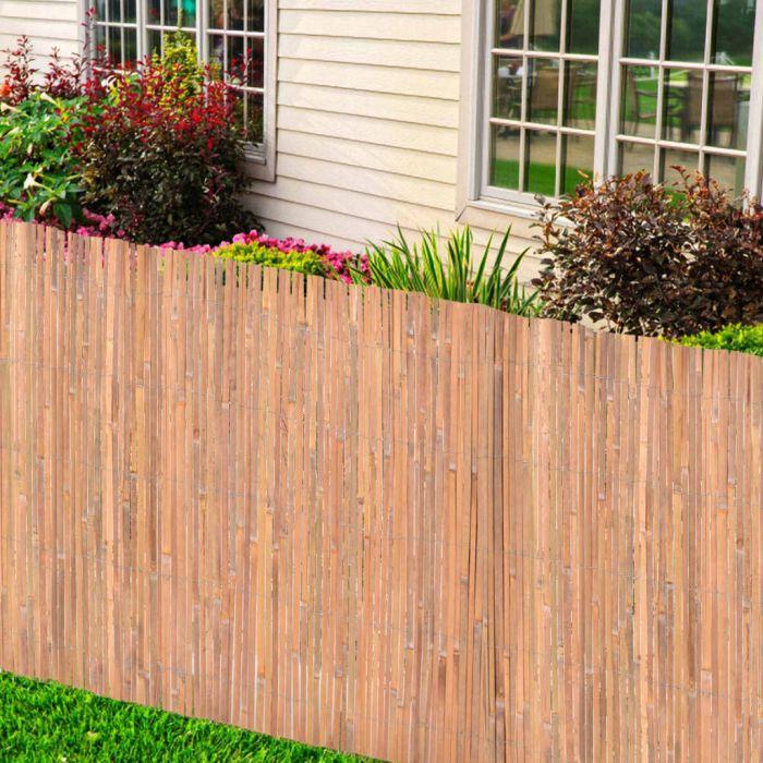 Бамбукови огради, 2 бр, 150x400 см
