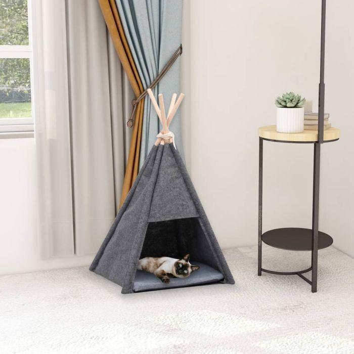 Котешка палатка Типи с чанта