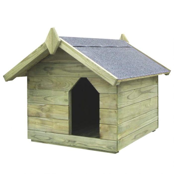 Градинска кучешка колиба
