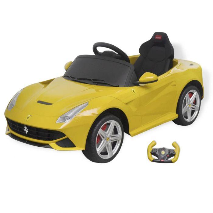 "Детско ""Ferrari F12"" с дистанционно управление"