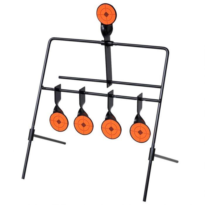 Автоматична мишена за стрелба с 4 + 1 ротационни цели