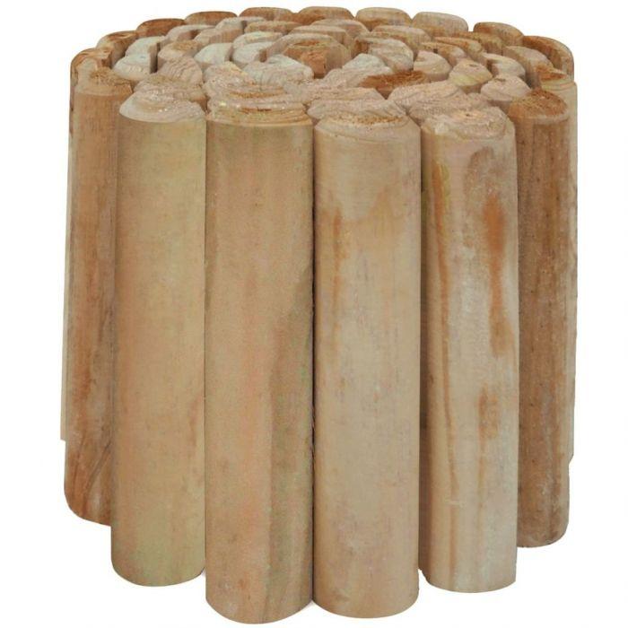 Палисади за градина, импрегнирана борова дървесина, 250x30 cм