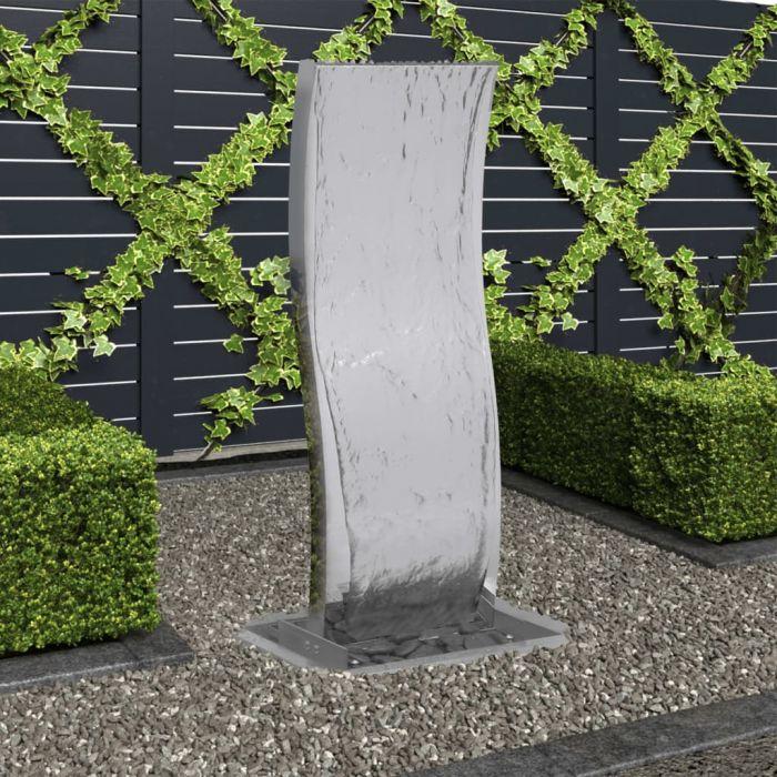 Градински фонтан с помпа