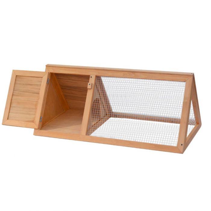 Дървена клетка за зайци и други малки животни