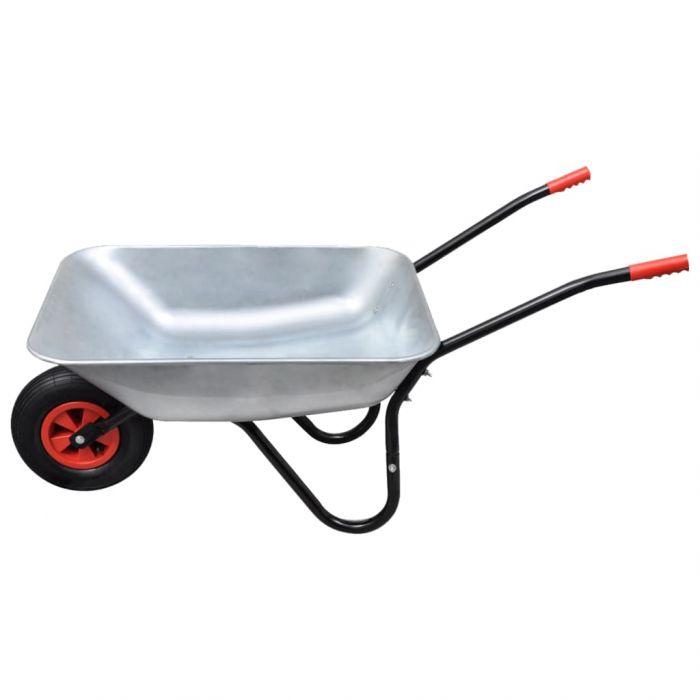 Ръчна количка с едно колело, 80 л.