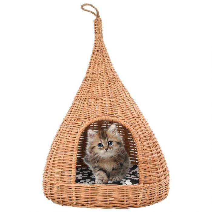 Къща за котки с възглавница