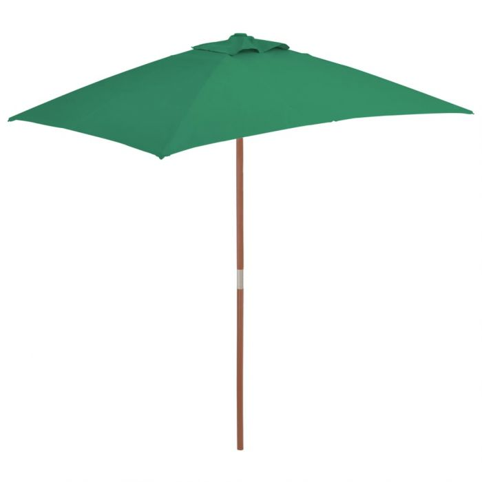 Градински чадър с дървен прът Burns