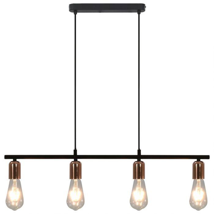 Таванна лампа с крушки filament