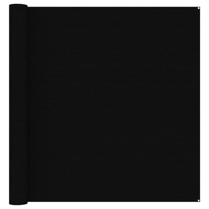 Килим за палатка, 300x400 см, черен