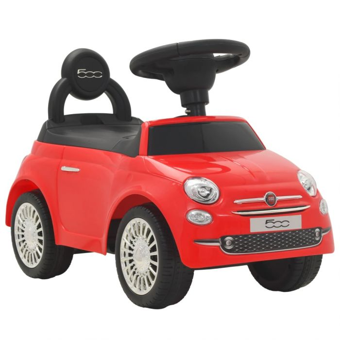 """Детска кола за яздене """"Fiat 500"""" червена"""