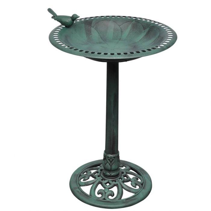 Вана за птици с декоративна птица