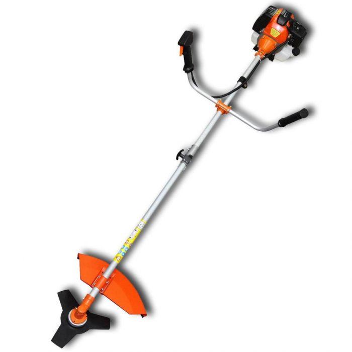 Тример за трева и храсти, 51,7 cc, оранжев, 2,2 kW