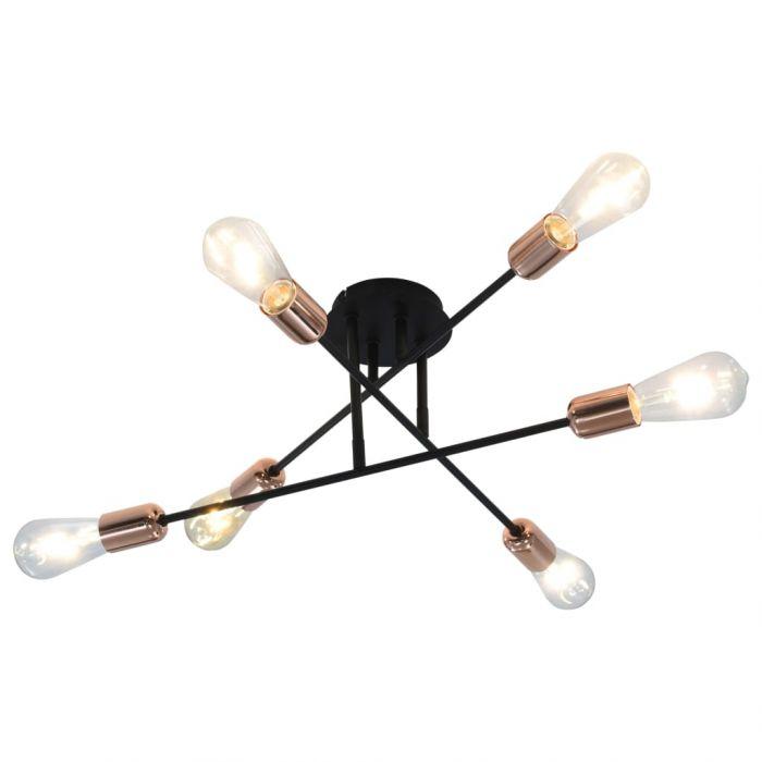 Таванна лампа с filament крушки