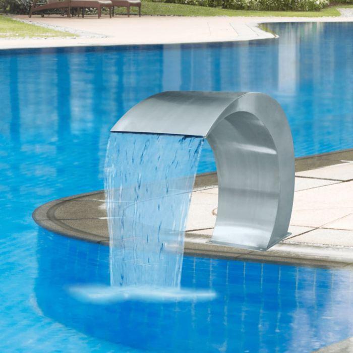 Градински фонтан за басейн