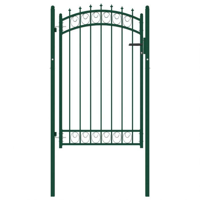 Оградна врата с шипове