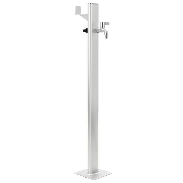 Градинска чешма, алуминий, колона, 95 см