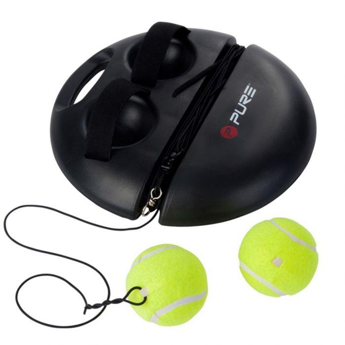 Pure2Improve Тренировъчен уред по тенис, черен, P2I100180