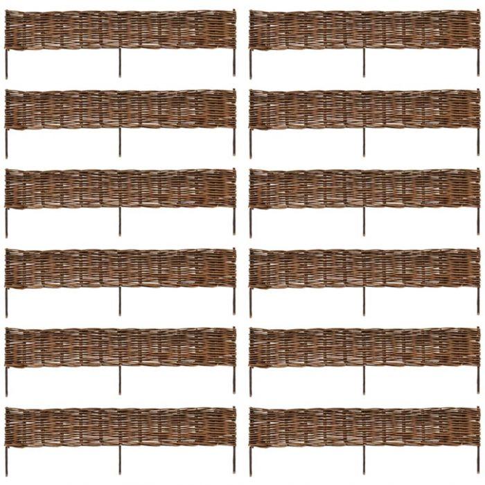 Висококачествена ограда от върба