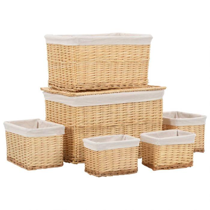 Комплект стифиращи кошници от 6 части
