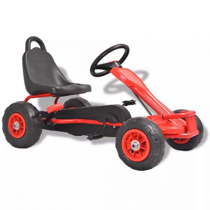 Детски картинг с педали и гуми
