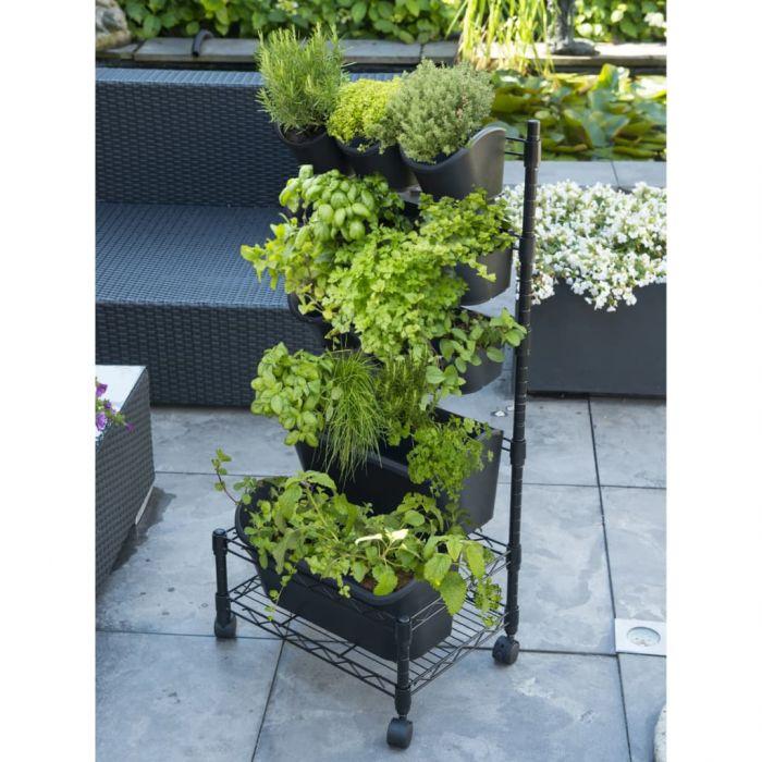 Nature Вертикална градина, мобилен комплект