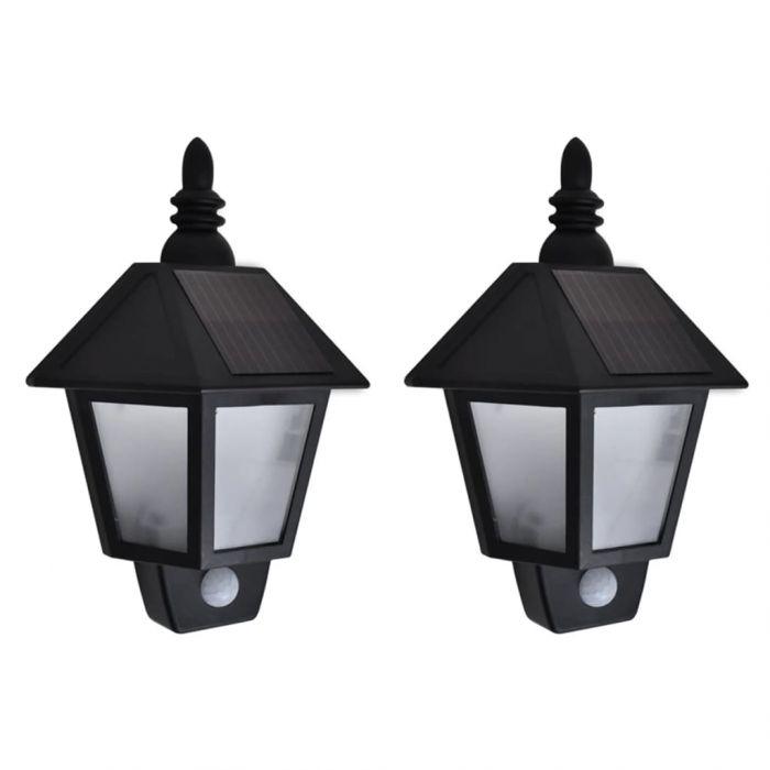 Соларни стенни лампи