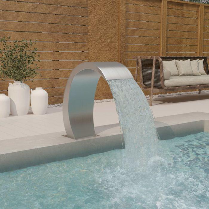 Фонтан за басейн с LED