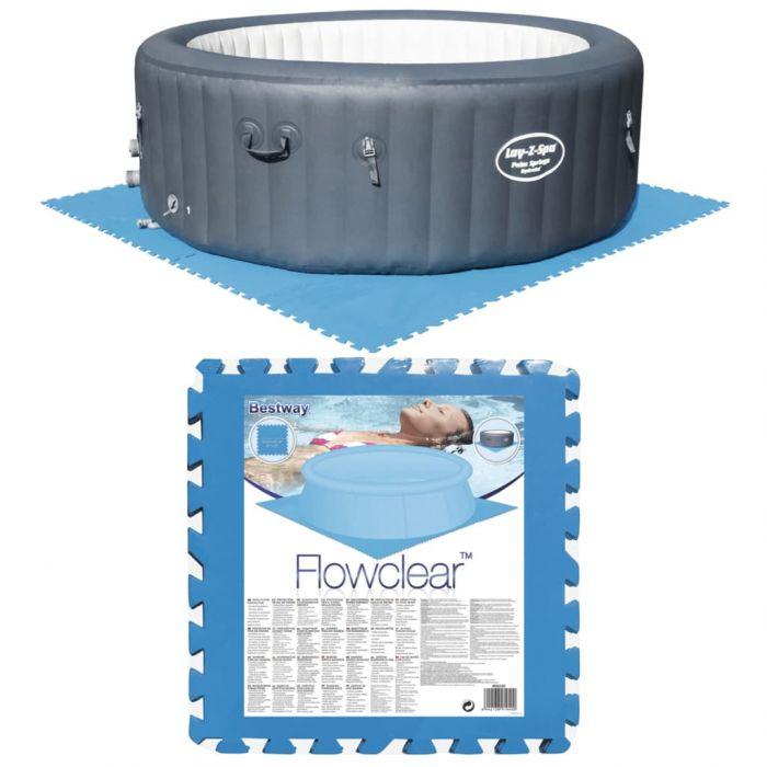 Bestway Протектори-подложки за басейни, 8 бр, сини, 58220