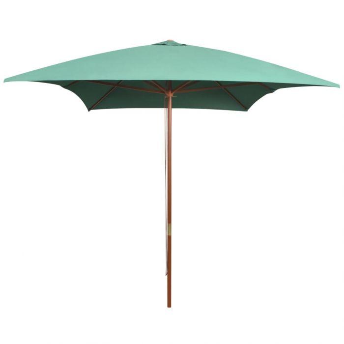 Градински чадър с дървен прът Evie