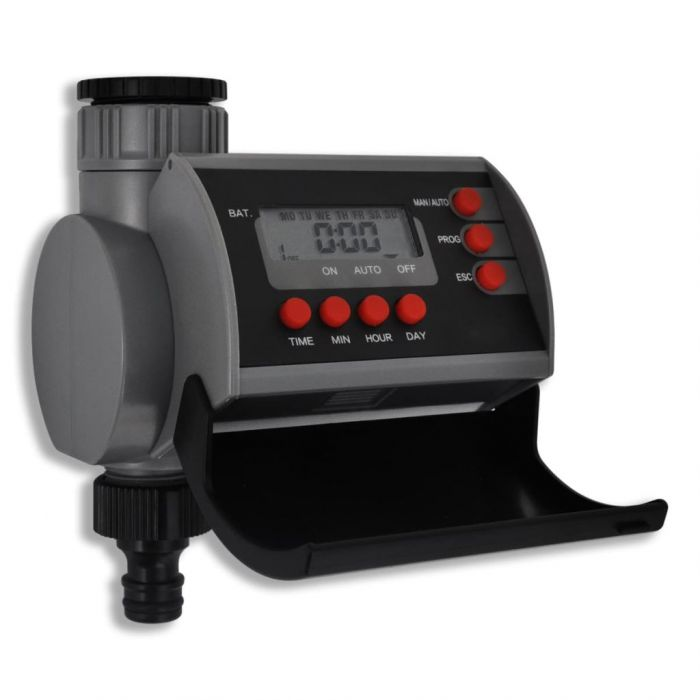 Електронен автоматичен таймер за поливане, единичен, дигитален дисплей