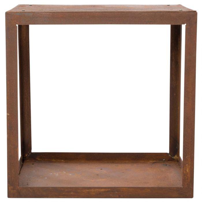 RedFire Стойка за дърва за огрев Hodr, ръждивокафява, 88519