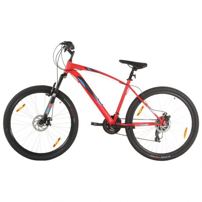 Планински велосипед 21 скорости 29 цола 48 см рамка червен